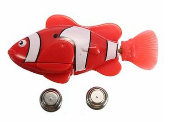 Battery operated fish toy for Battery operated fish