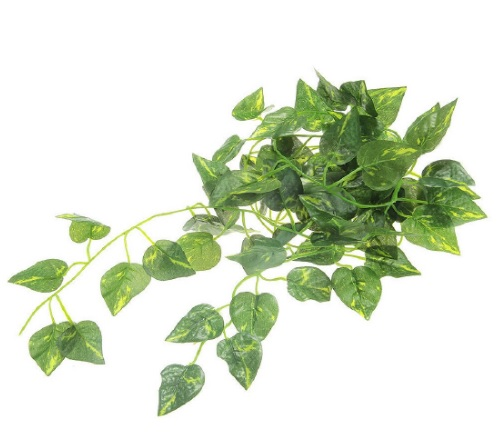 Artificial vine reptile habitat decoration for Decoration habitat
